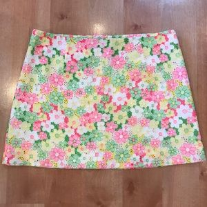 Lilly Pulitzer Floral Lace Tate Skirt